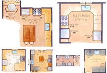"""6类""""型""""厨房布局设计 轻松打造满意厨房"""
