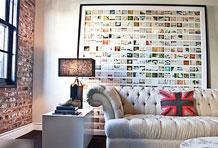 摒弃呆板墙面 13个海外个性照片墙