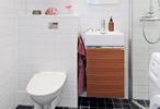 入墙式马桶+挂墙式浴室柜