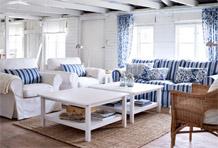 低调休闲风沙发区搭配