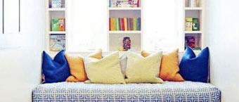 飘窗创意无限 利用飘窗空间巧做书柜