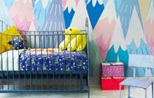 儿童房最美墙面 这些壁纸效果出彩