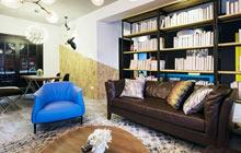 北欧混搭单身公寓设计图 视觉的诱惑