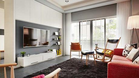 150平混搭三居装修布实景图 平实取代华丽