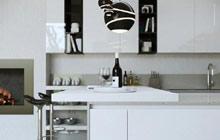 男人魅力开始 10个极简开放式厨房