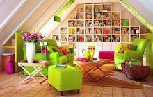 11个阁楼小客厅装修 让你的生活更出彩
