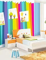 20款儿童房壁纸图片