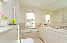 16款冷色调卫生间 给你一个冷静的沐浴空间