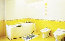 13款黄色瓷砖 打造活力卫生间