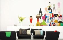 时尚墙绘设计 16款客厅手绘墙图片