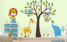 绘制一方美丽 17款小清新手绘墙图片