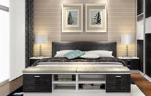 小户型收纳必备 7款实用的床尾家具