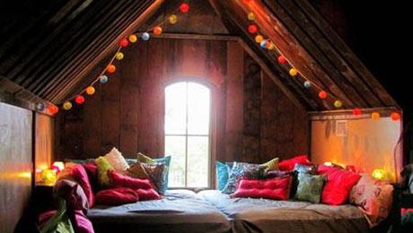最爱原木设计 满目清新居室空间