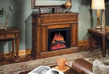 冬日烤火聊天 说说壁炉种类有哪些