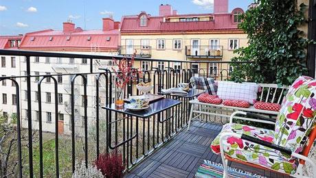 宜家风格阳台如何布置  需要哪些道具呢