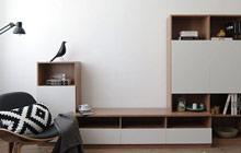 电视柜这样设计 让客厅收纳更便捷