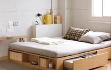 卧室收纳不用怕 有这样的收纳床就够了