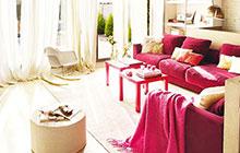 用红色召唤好运 14个红色客厅沙发设计