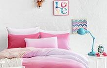 12款渐变色卧室床品 享受梦中晕染色