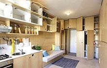30平超小户型公寓装修图 超强储物空间
