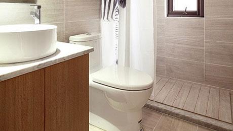 12个卫生间浴帘隔断效果图 干湿分离好帮手