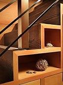 5、复式楼梯也能收纳?