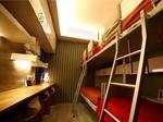 睡觉学习两不误的儿童房