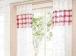 4、糖果色窗帘,让你家活泼起来