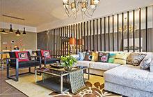 气质与时尚的标准 10款新中式客厅设计图