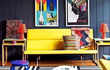 给家一个POP风 10个另类时尚客厅图片